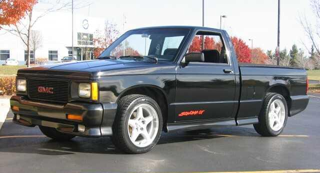 GMC Sonoma Black GT big