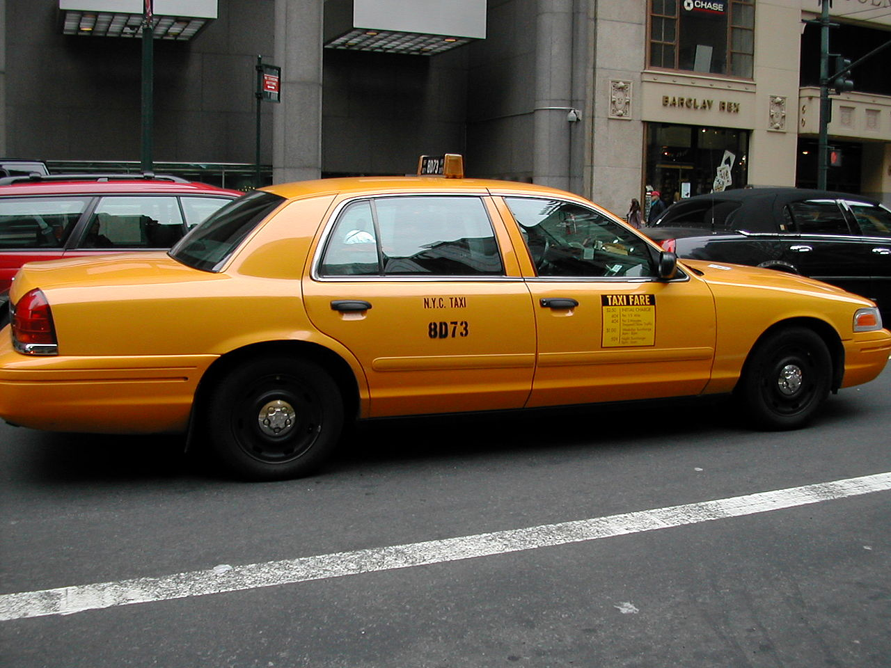 NYC Taxi Ford Crown Vic 1386