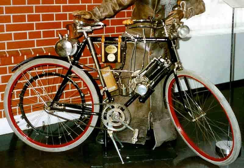 1903 Scania motorbike