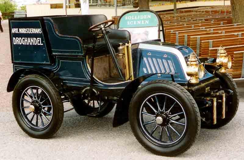 1903 Scania Type A Tonneau