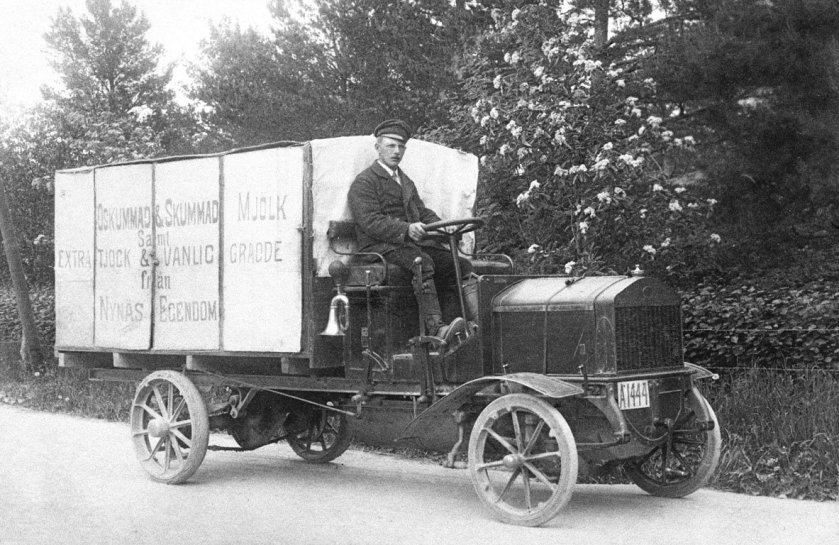 1909 SCANIA LAITIER