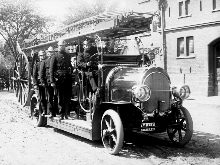 1911 Scania-Vabis Firetruck