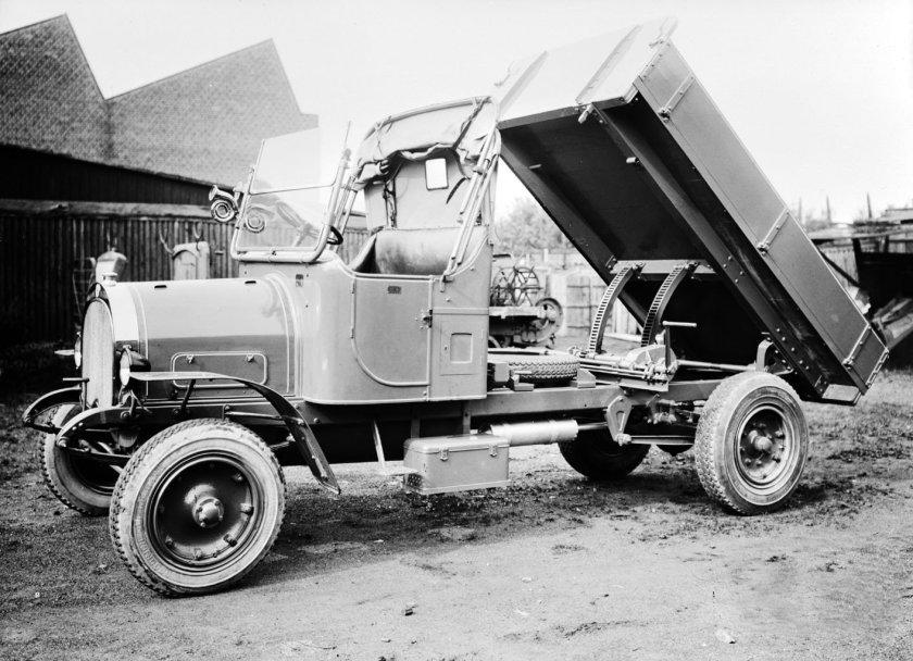 1924 SCANIA-VABIS BENNE