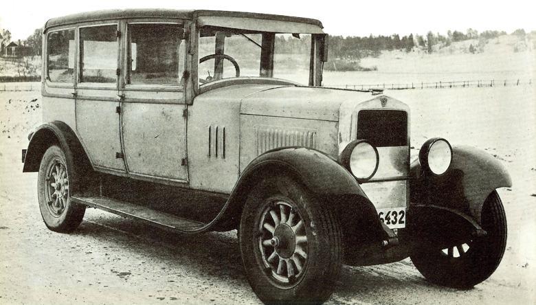 1927 Scania-Vabis limousine