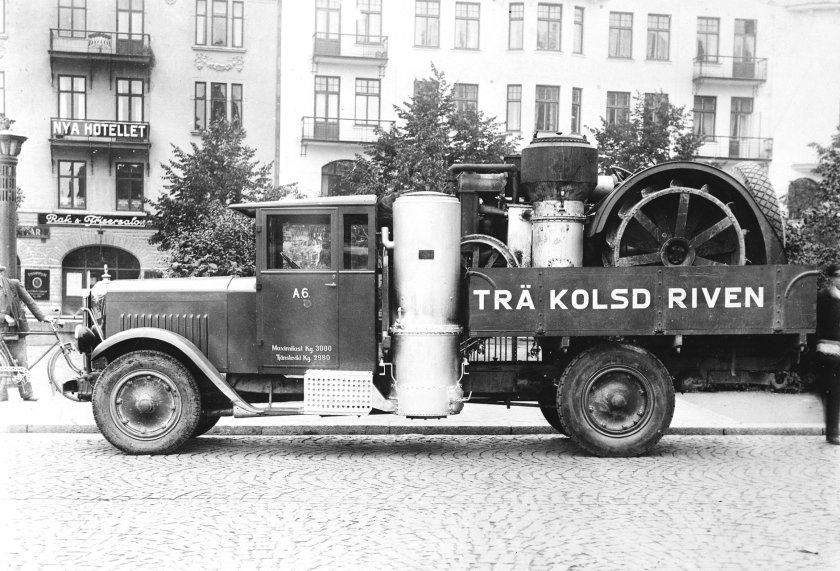 1929 SCANIA-VABIS GAZOGENE