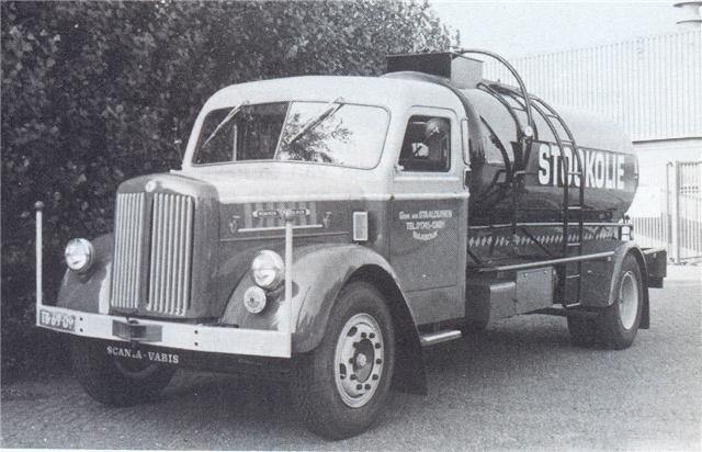 1955 SCANIA L50 petit porteur citerne