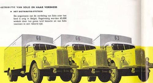 1956 Scania Vabis Solo Distributie