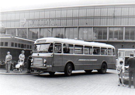 1956 Viercilinder Scania-Vabis Hainje van de NACO, nummer 2570.