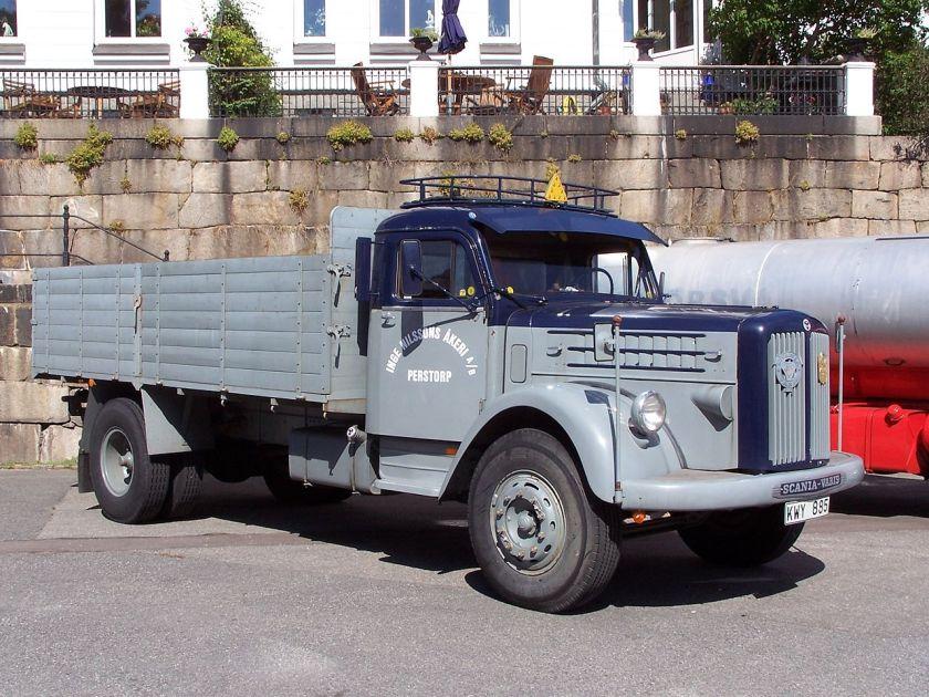 1957 Scania-Vabis L71