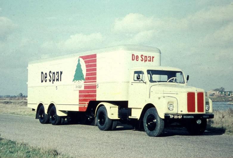 1961 Scania-Vabis De Spar TF-25-07