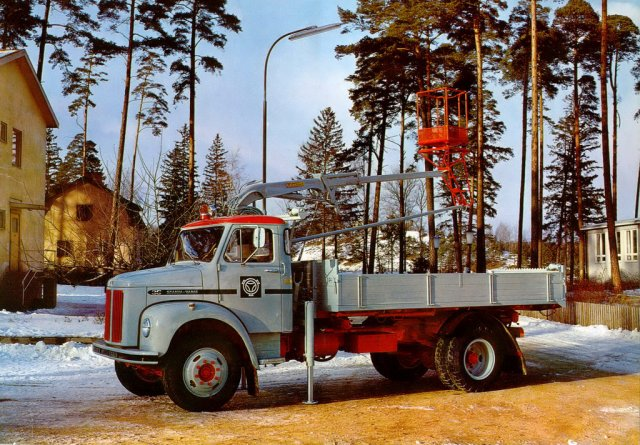 1961 SCANIA VABIS L 36 porteur de petit tonnage