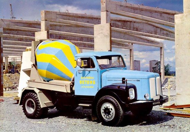 1962 SCANIA LT 66