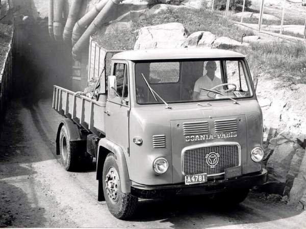1963 SCANIA LB 76 cabine avancée courte