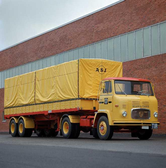 1963 Scania-Vabis LB76