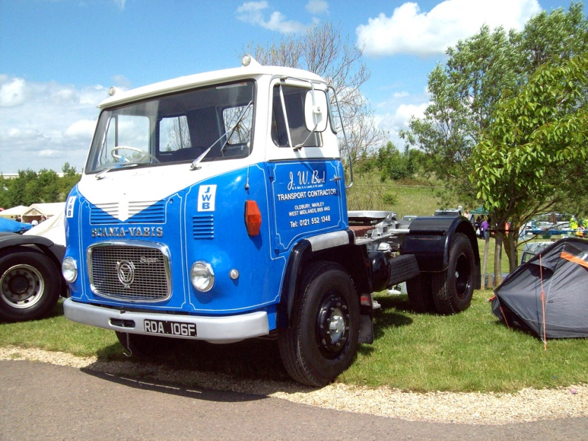 1967 Scania Vabis LB76 Super Engine 3000cc  RDA