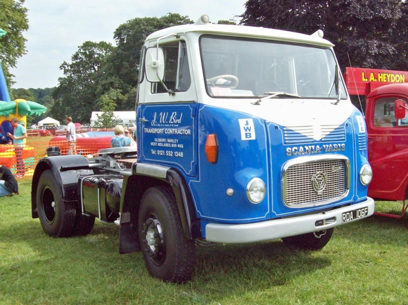 1967 Scania Vabis LB76 Super Engine 3000cc