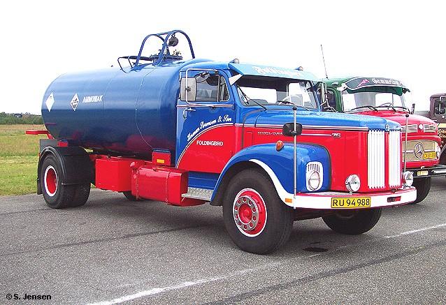 1968 Scania-Vabis L 76 Chemikalien-Tankwagen