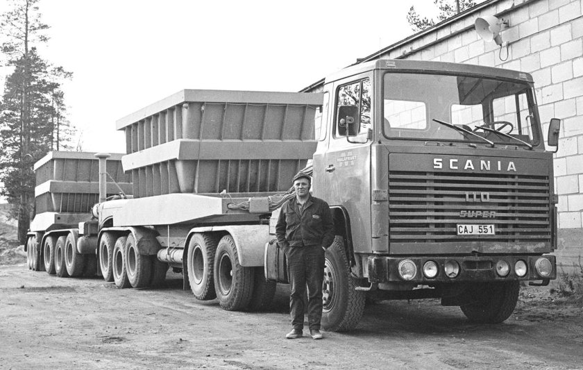 1970 SCANIA LBS 110 551