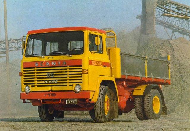 1971 SCANIA 85 super cabine