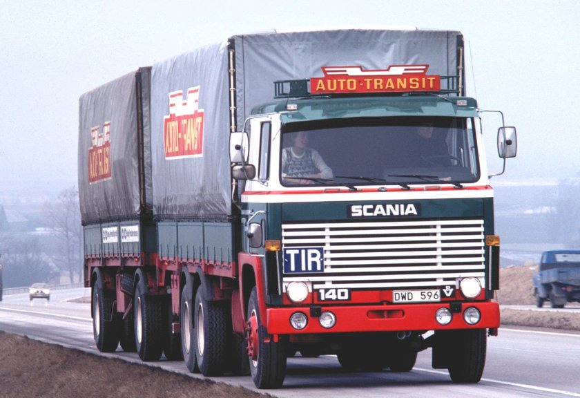 1976 SCANIA LBS 140 596