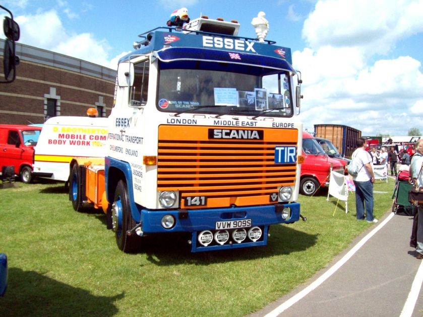 1978 Scania 141 V8 Tractor VVW