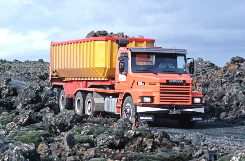 1984 SCANIA T 112 H 187