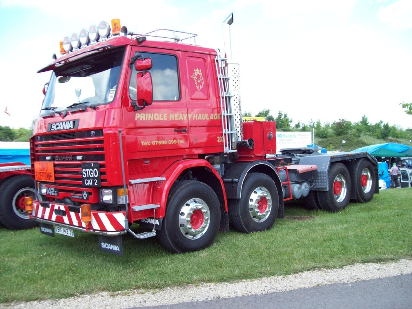 1986 Scania Super 142E Engine 5840cc V8 Inter-cooler