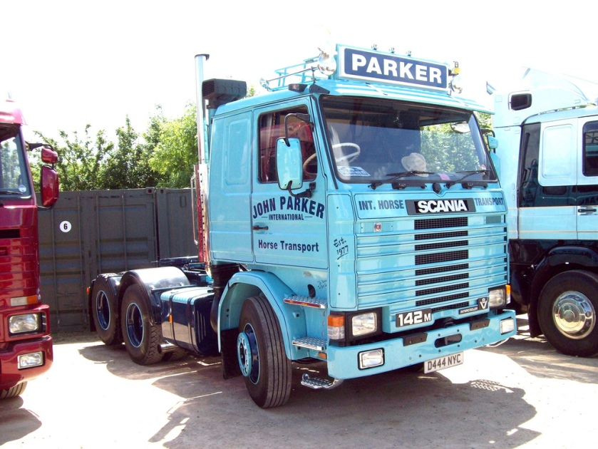 1987 Scania 142M Tractor Engine 14000cc Parker