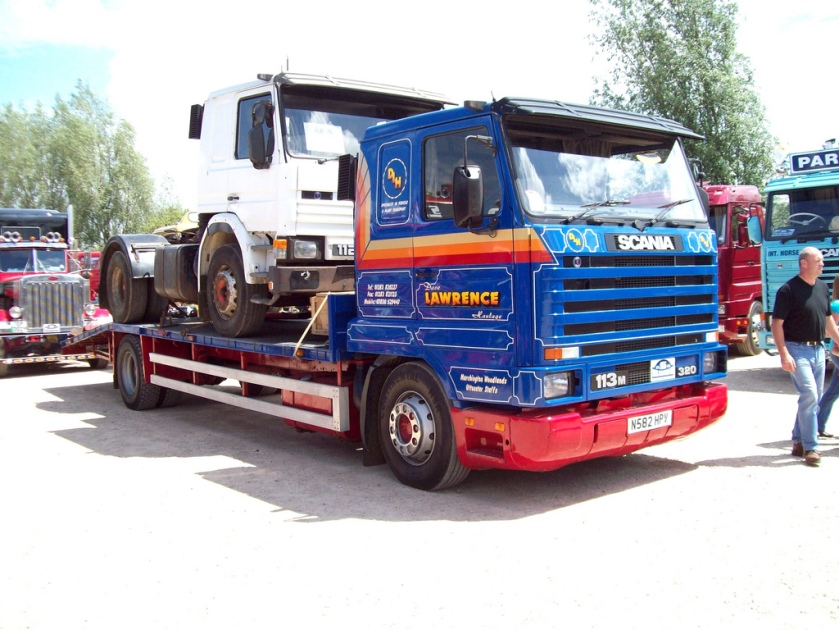1995 Scania 113M Low Loader Engine 11000cc Lawrence