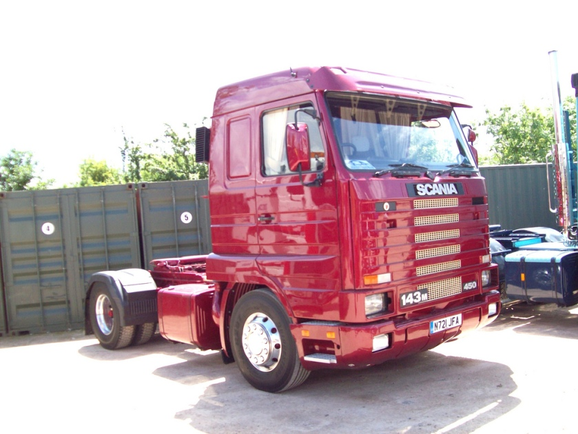1996 Scania 143M Tractor Engine 14190cc JFA