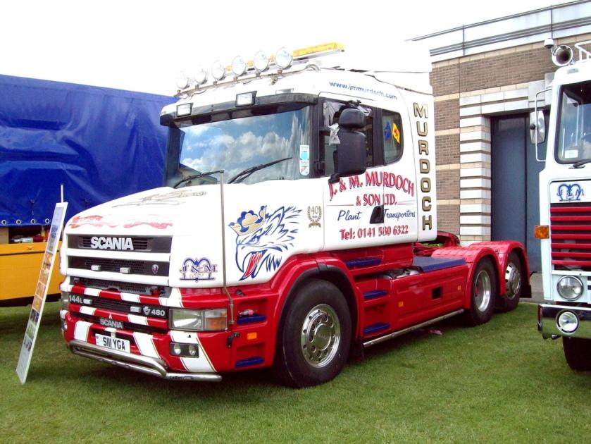 1999 Scania 144L Tractor Engine 14190cc Murdoch