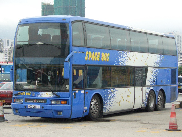 Ikarus E99 on Scania K124EB chassis