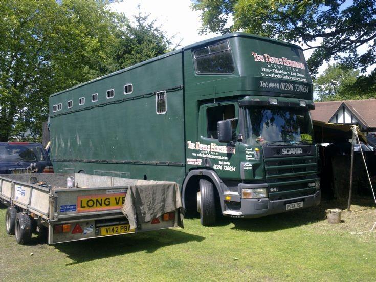Scania 114L Horse Box