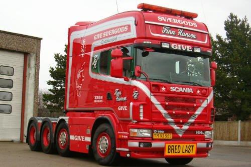 Scania 8x4