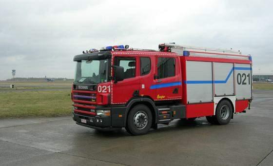 Scania Brandweervoertuig