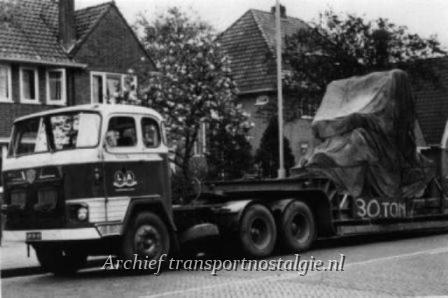 Scania dieplader Looms&Alberts