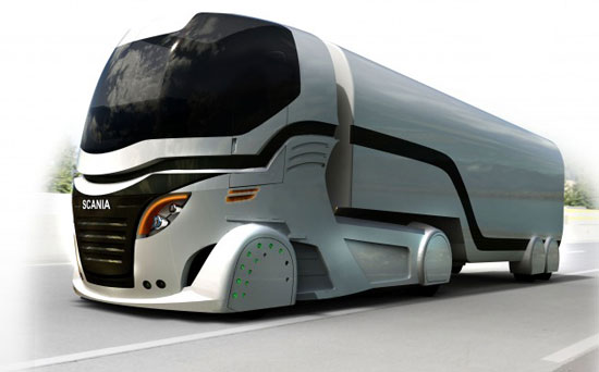 Scania Futuristic-truck-cab-concept-probably-wont-thrill-Optimus-Prime