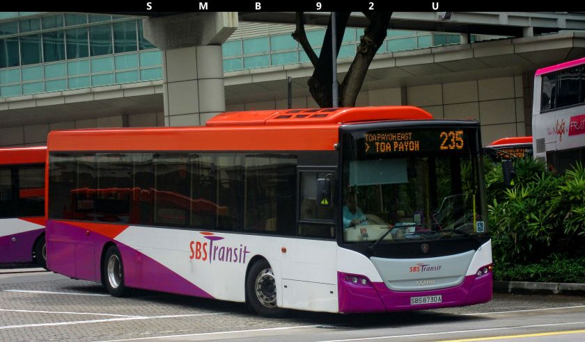 Scania K230UB owned by SBS Transit Pte Ltd.