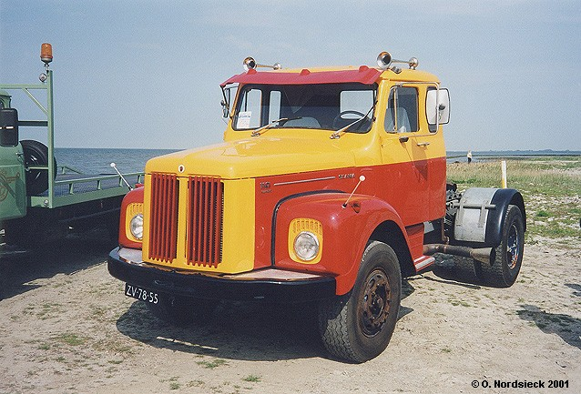 Scania L 110 Super Sattelschlepper