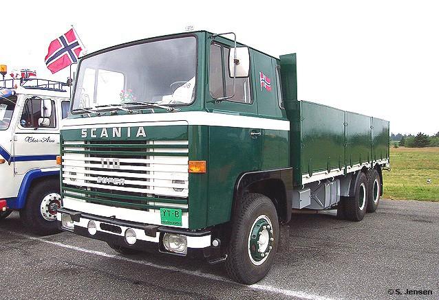 Scania LB 110 Super Pritschen-Lkw