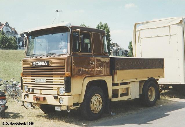 Scania LB 111 Schausteller-Zugmaschine