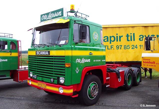 Scania LBS 140 Sattelschlepper