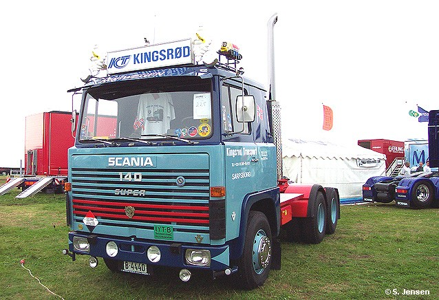 Scania LBS 140 Super Sattelschlepper