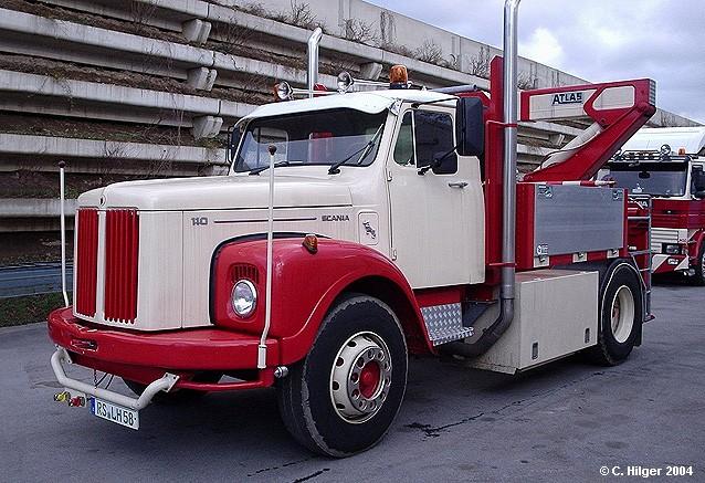 Scania L(S) 110 Schausteller-Zugmaschine