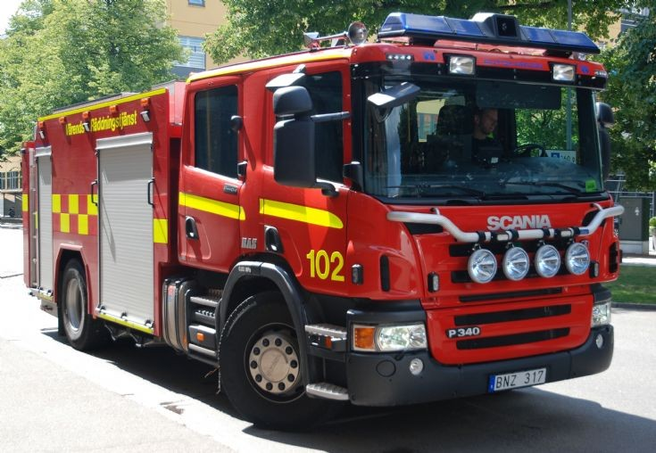 Scania P340 BAS4 Växjö