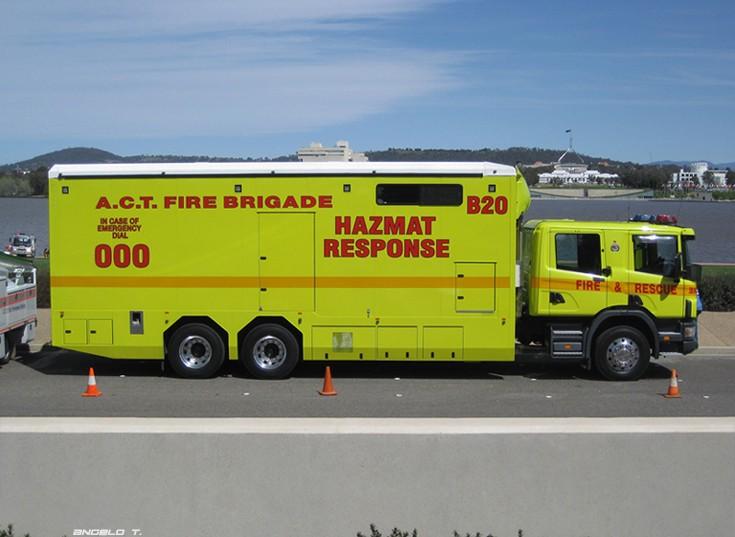 Scania P94 - HAZMAT Response, Australia