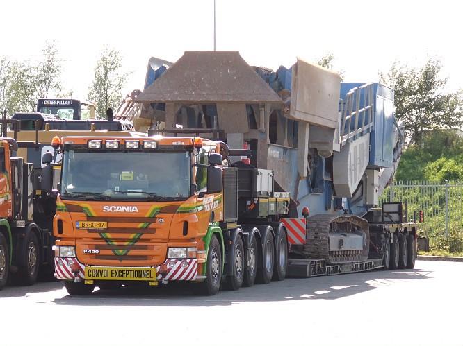 Scania touf