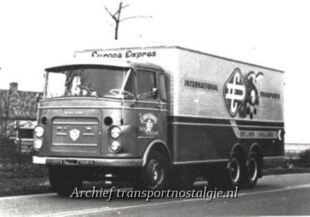 Scania-vabis Disselkoen