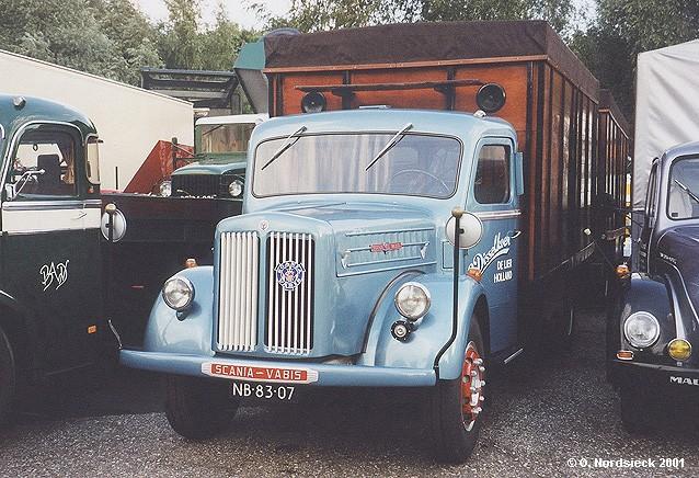 Scania-Vabis L 60 Kühllastzug