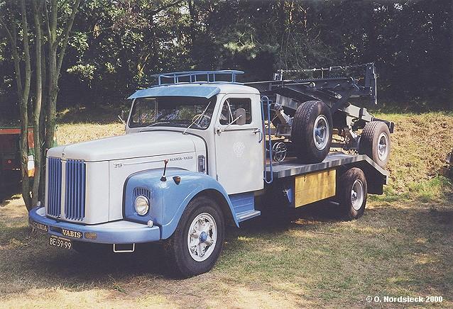 Scania-Vabis L 75 Langmaterial-Lastzug